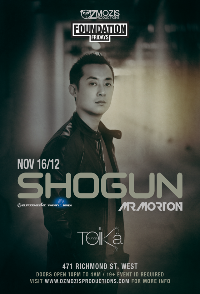 Shogun Mr. Morton Toika Toronto
