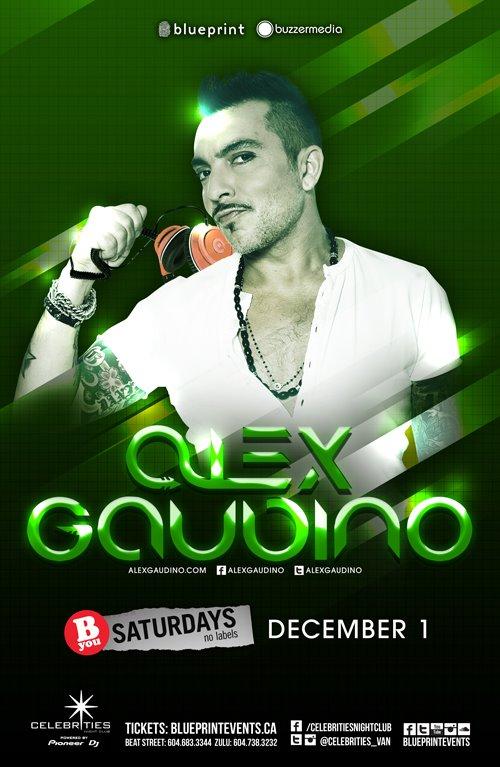 Alex Gaubino Celebrities Vancouver