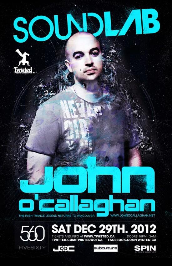 John O'Callaghan five sixty vancouver