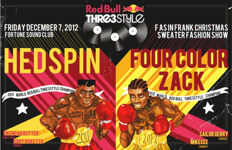 H  EDSPIN + Four Colour Zack fortune sound club vancouver