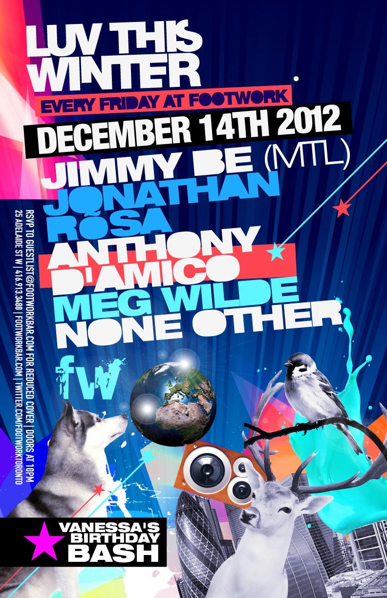 Jimmy Be, Jonathan Rosa, Anthony D'Amico, Meg Wilde, None Other footwork toronto