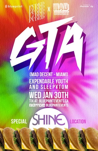 GTA, Expendable Youth, Sleepytom shine vancouver