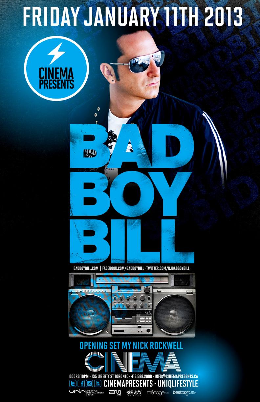 Bad Boy Bill cinema toronto