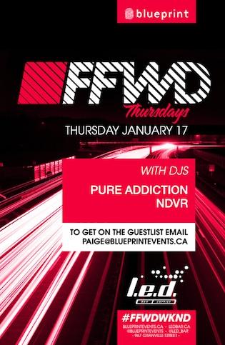 P  ure Addiction, NDVR Vancouver L.E.D Bar