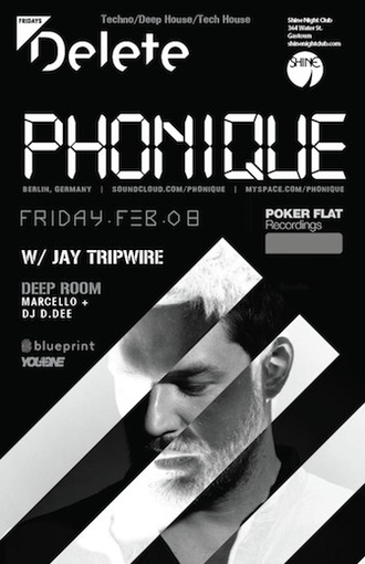 Phonique, Jay Tripwire + House Music in the Backroom w/ Marcello Vancouver