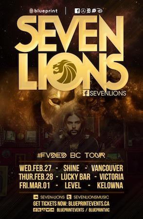 Seven Lions Shine Nightclub Vancouver