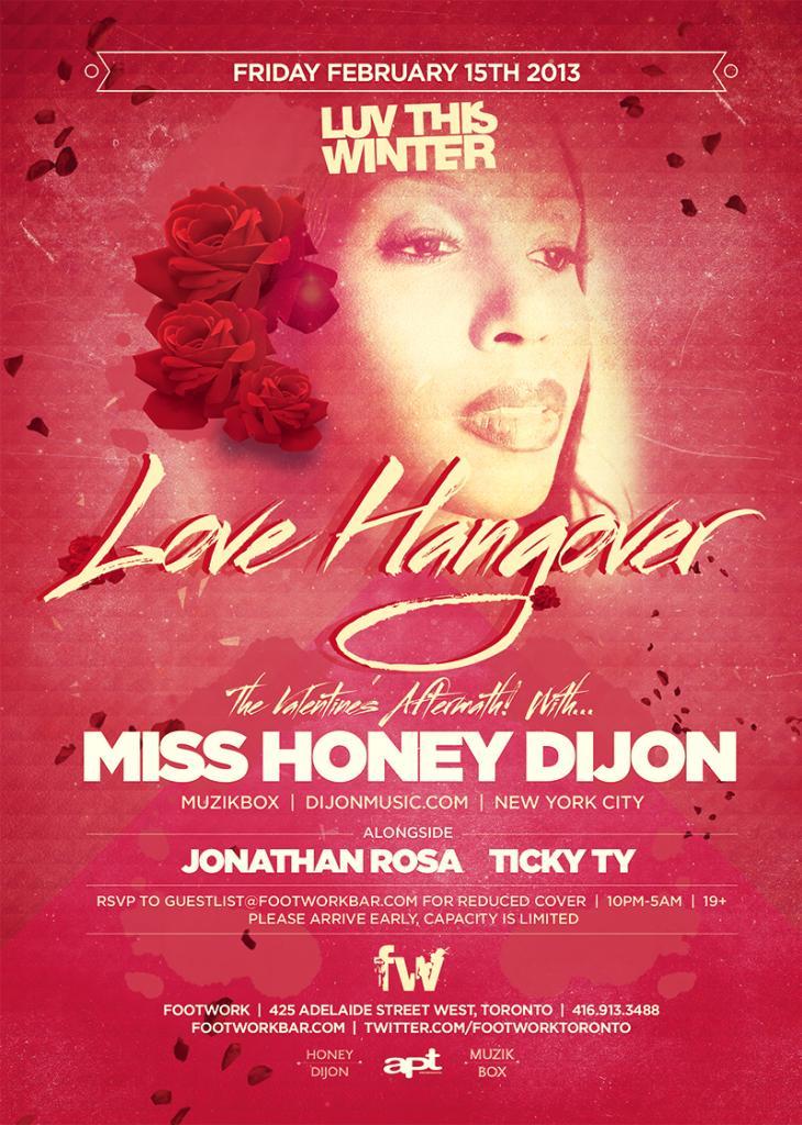 M  iss Honey Dijon, Jonathan Rosa, Ticky Ty Footwork Toronto