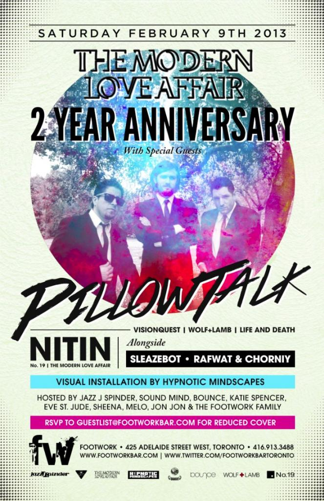 Pillowtalk, Nitin, Sleazebot, Rafwat & Chorniy Footwork Toronto