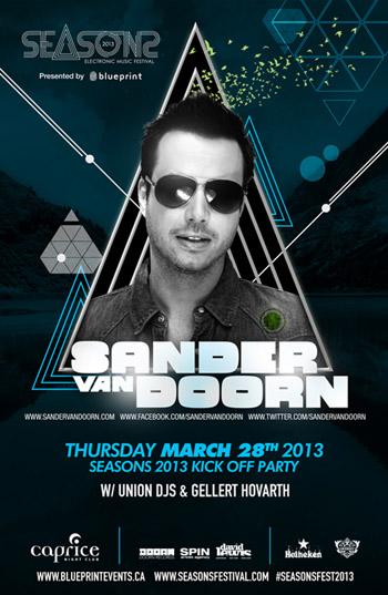 Sander Van Doorn, Union DJs, Gellert Hovarth Caprice Vancouver
