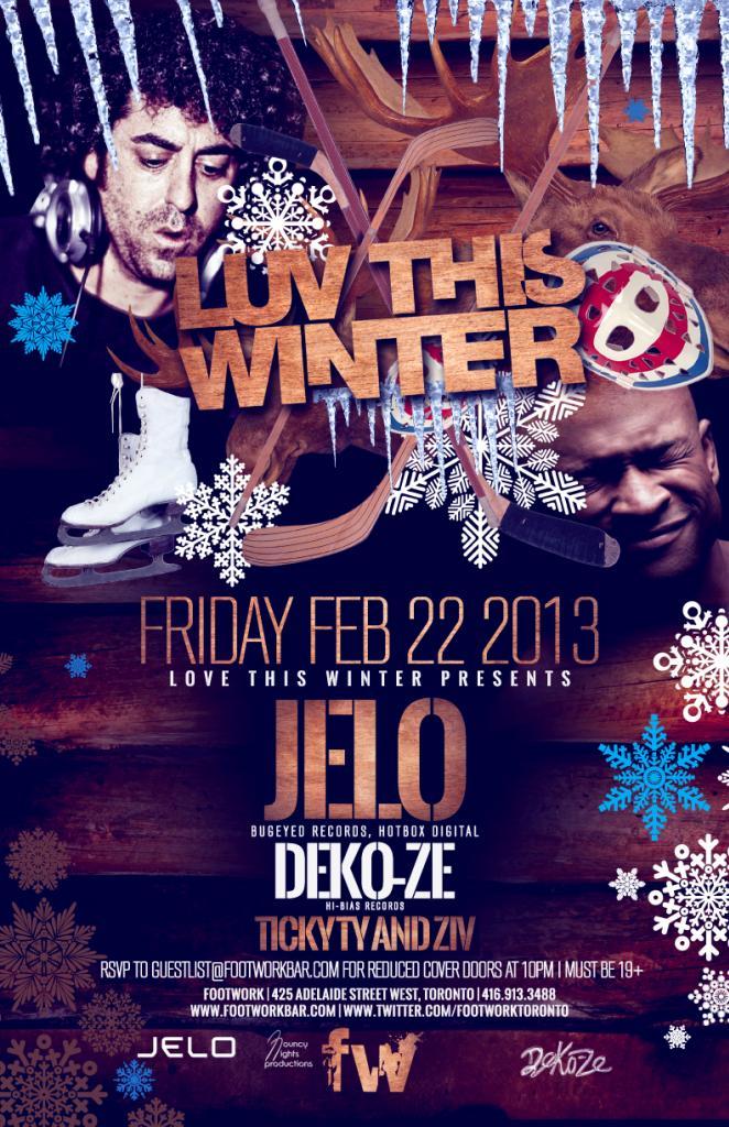 J  ELO, Deko-Ze, Ticky Ty, Ziv Footwork Toronto