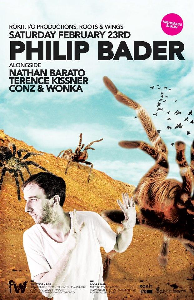 P  hilip Bader, Nathan Barato, Terence Kissner, Conz & Wonka Footwork Toronto