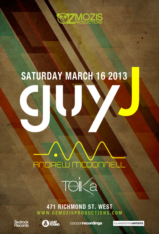 Guy J, Andrew Mcdonnell Toika Lounge Toronto