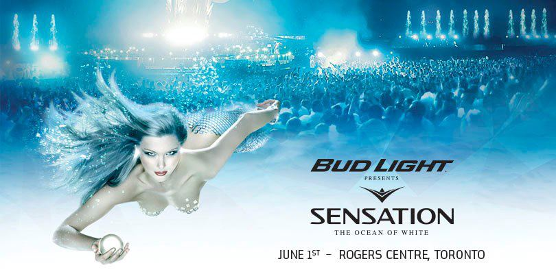Sensation Canada at the Rogers Centre on Saturday June 1st in Toronto