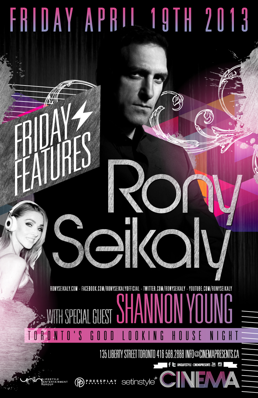 Rony Seikaly, Shannon Young Cinema Toronto