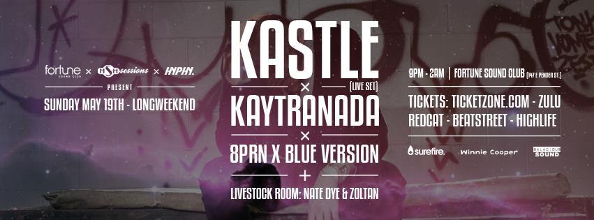 K  astle (Live) w/ Kaytranada Fortune Sound Club Vancouver
