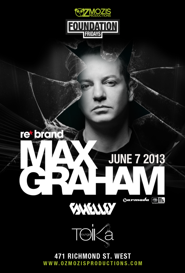 Max Graham, Shelley Toika Lounge Toronto