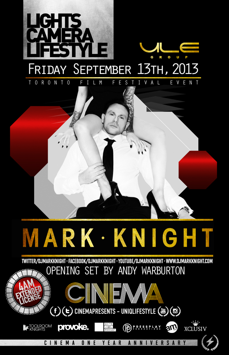 Mark Knight, Andy Warburton Cinema in Toronto