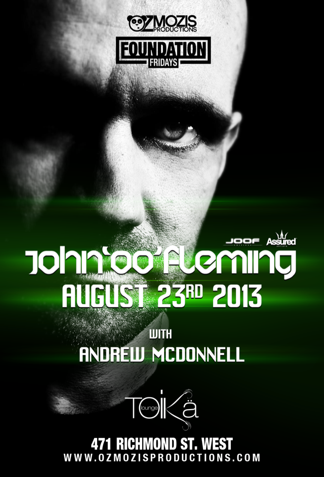 J  ohn '00' Fleming, Andrew Mcdonell Toika Lounge Toronto