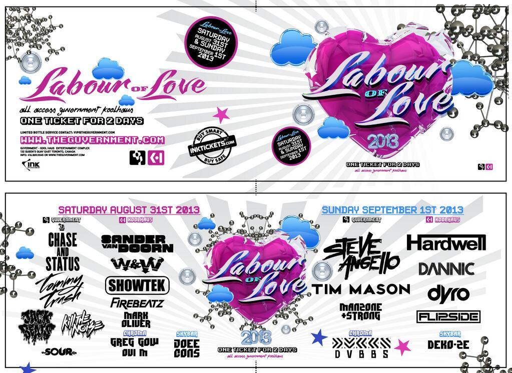 Labour of Love 2013