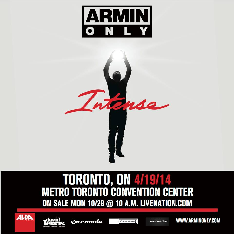 Armin Van Buuren (6 hour set) + more for Armin Only 2014 in Toronto