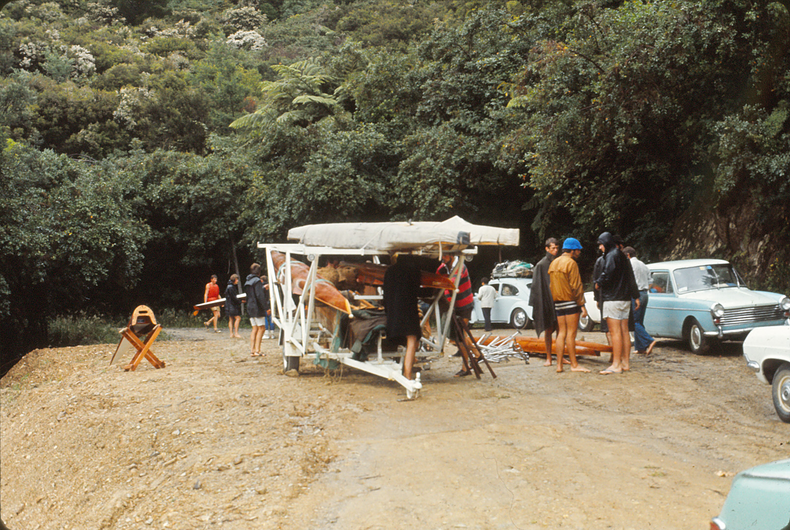loading the trailer at training camp in the marlborough sounds.jpg