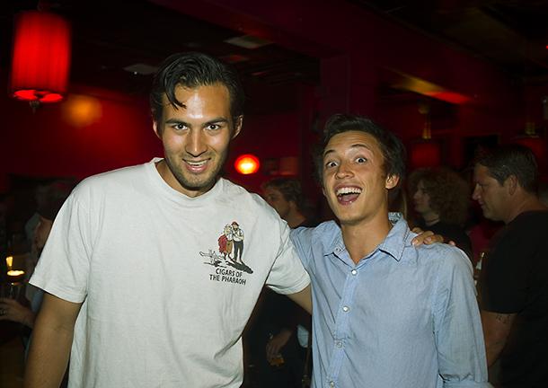 Good times with Ilja Maran & Bear Bridges.