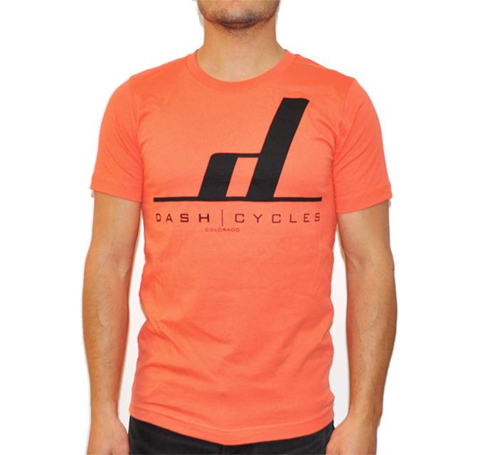 Dash Cycles - Tshirt - Orange.jpg