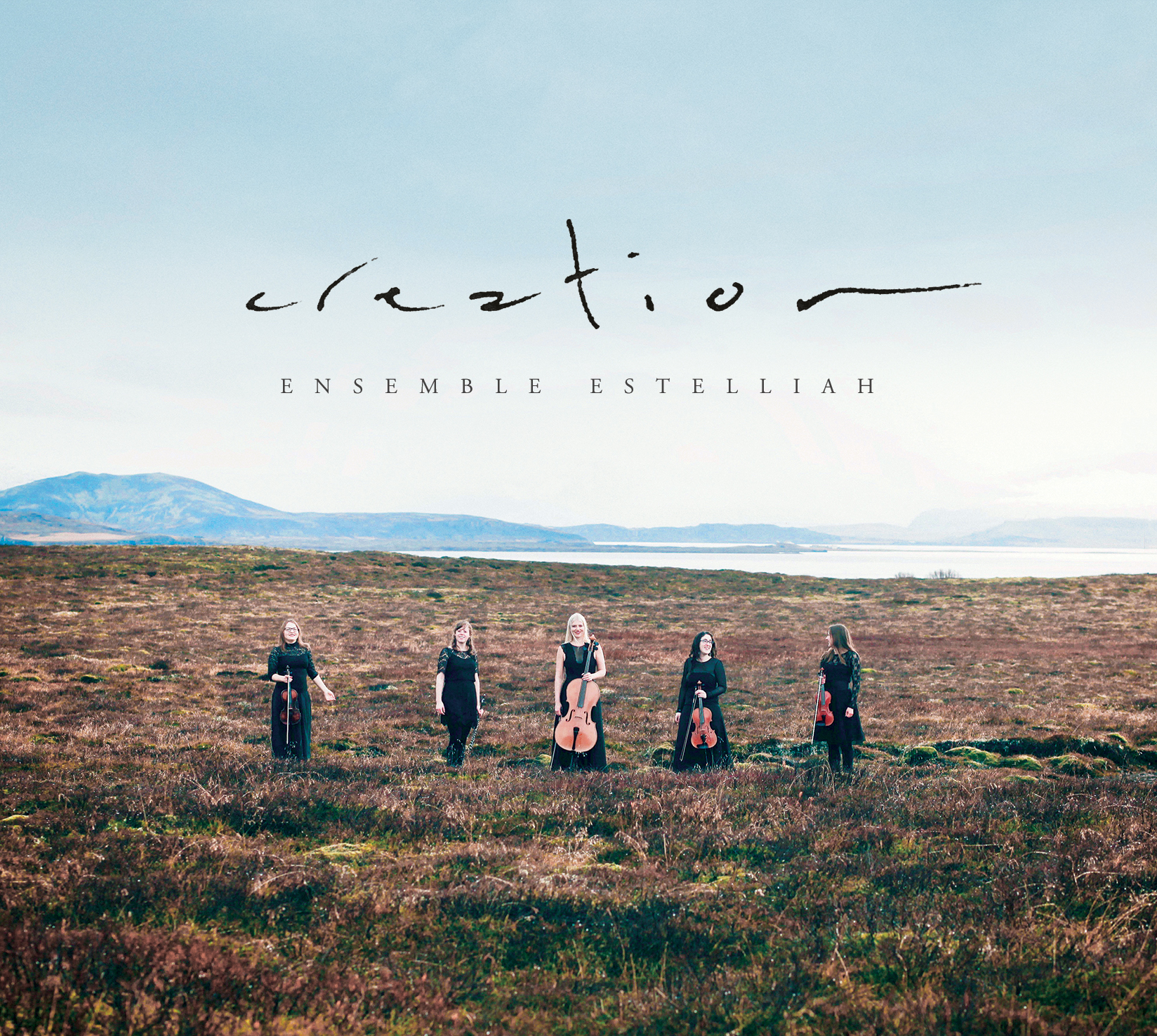 Spontaneous, instrumental improvisations inspired by Icelandic landscape.
