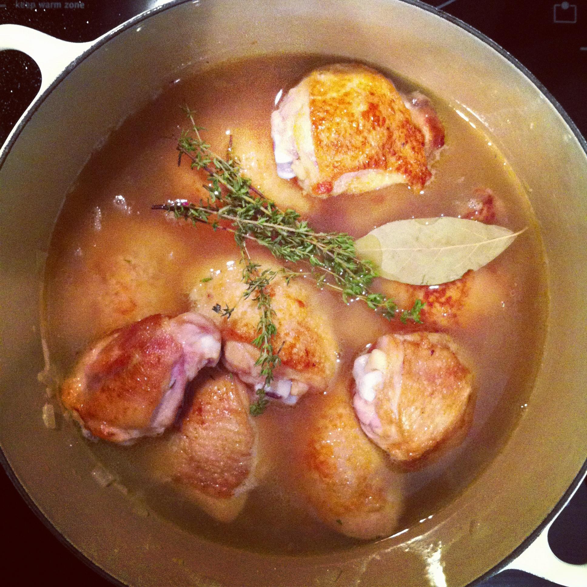 Chicken in Saffron Stew