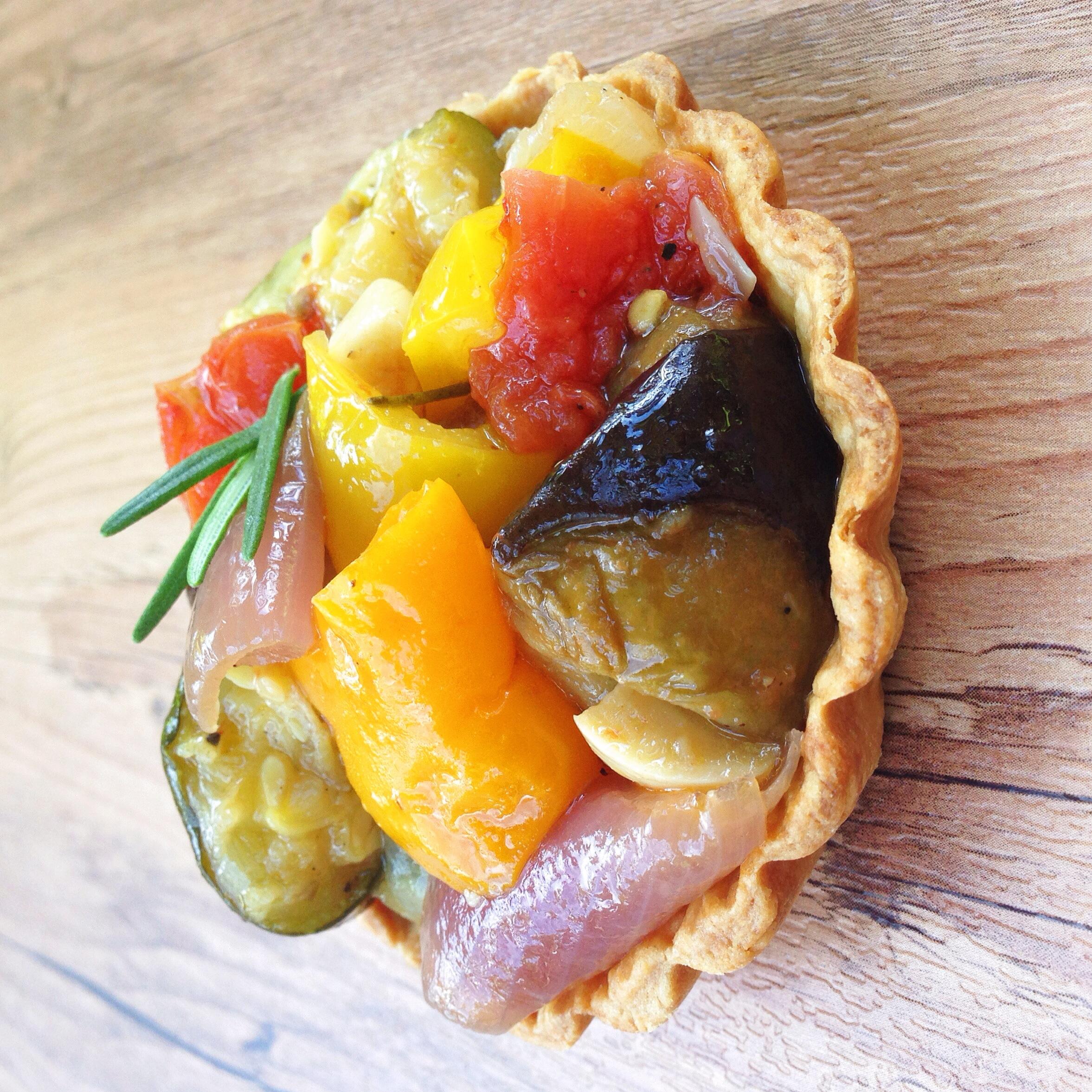 Roasted Vegetable Tart   RafaellaSargi.com