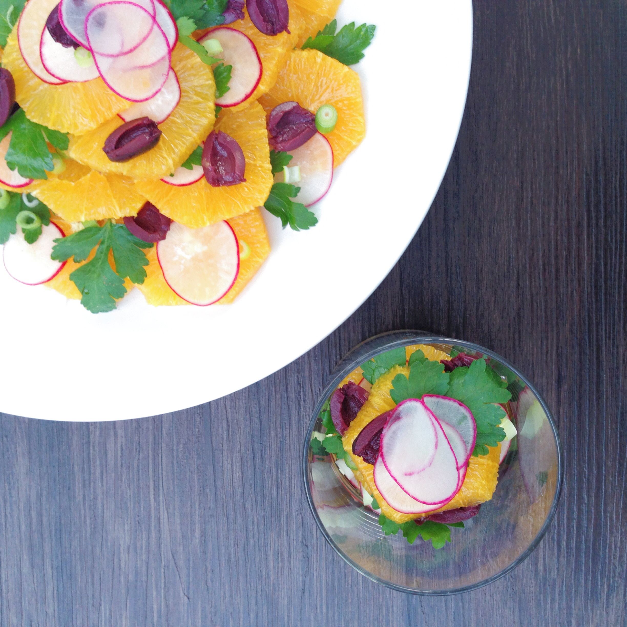 Orange Radish Salad | RafaellaSargi.com