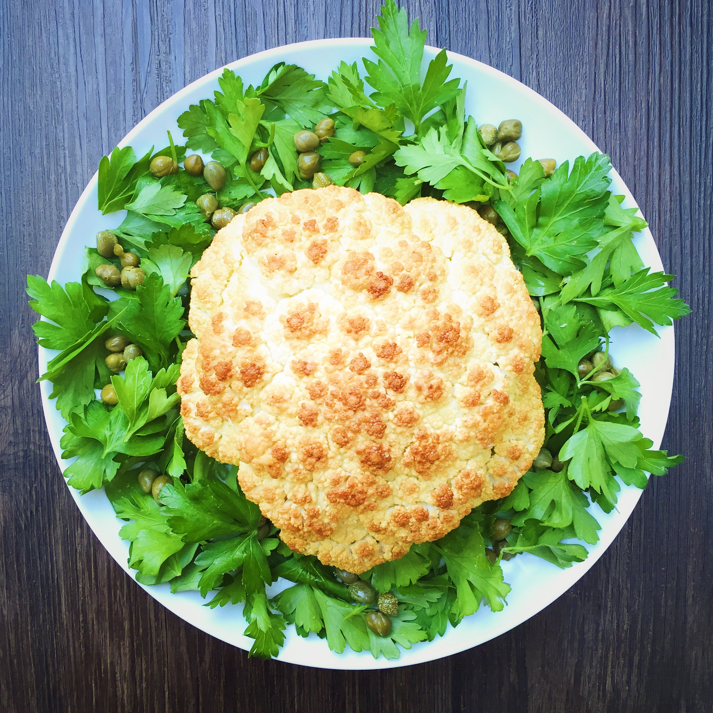 Roasted Cauliflower | RafaellaSargi.com