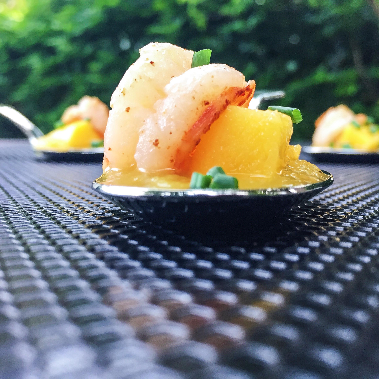 Mango Shrimp Spoon | RafaellaSargi.com