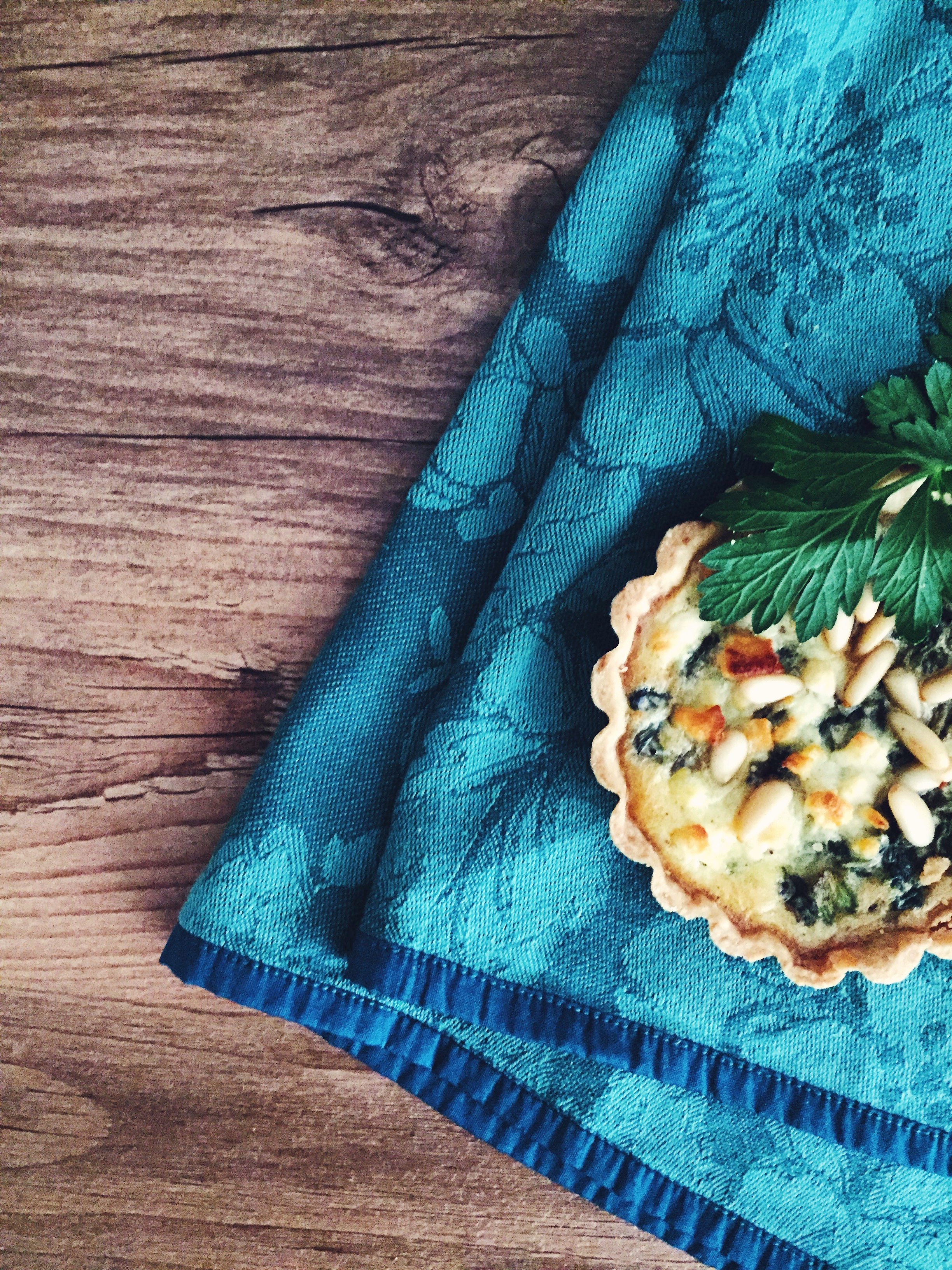 Oriental Spinach Tart | RafaellaSargi.com