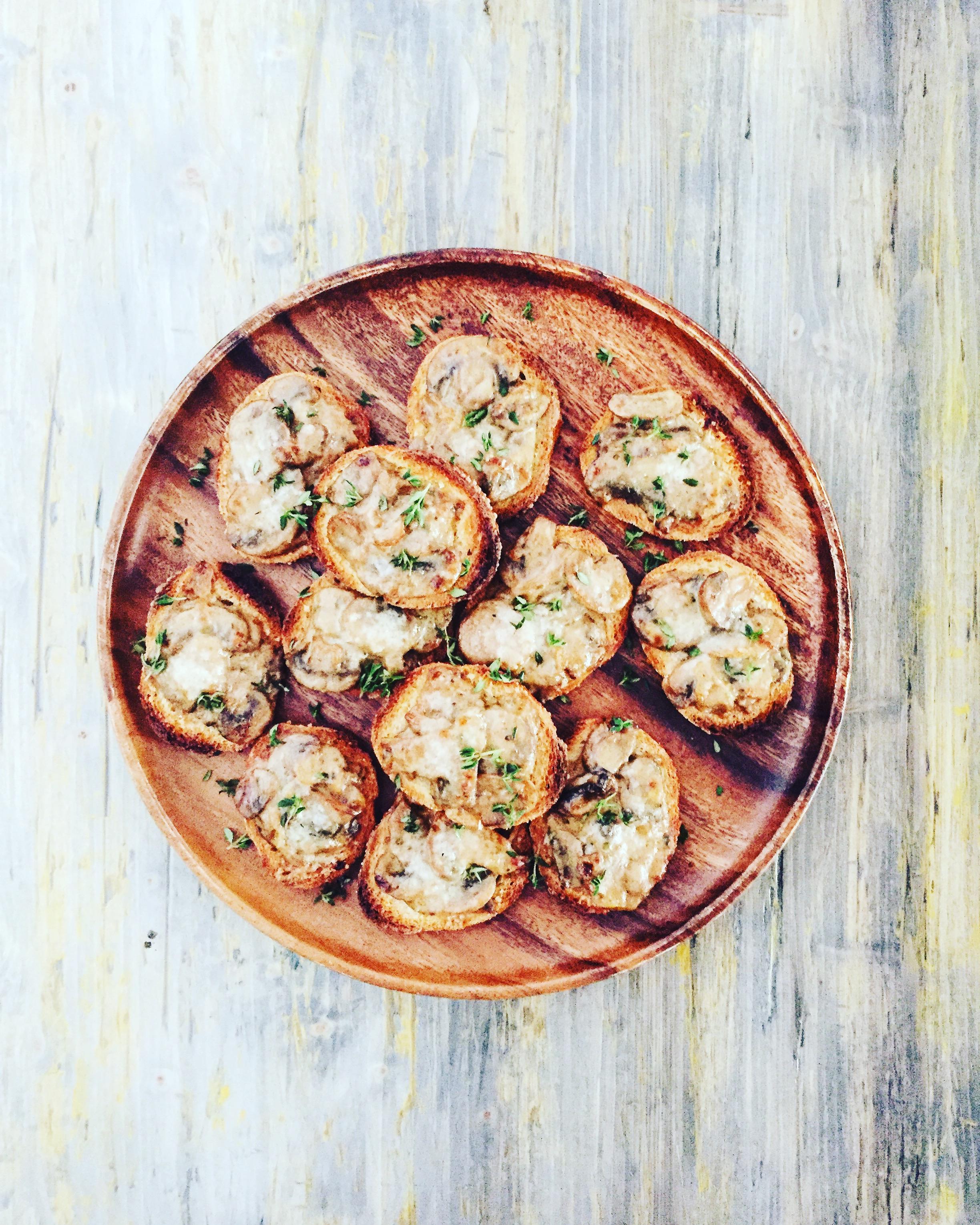 Crunchy Mushroom Bites | RafaellaSargi.com