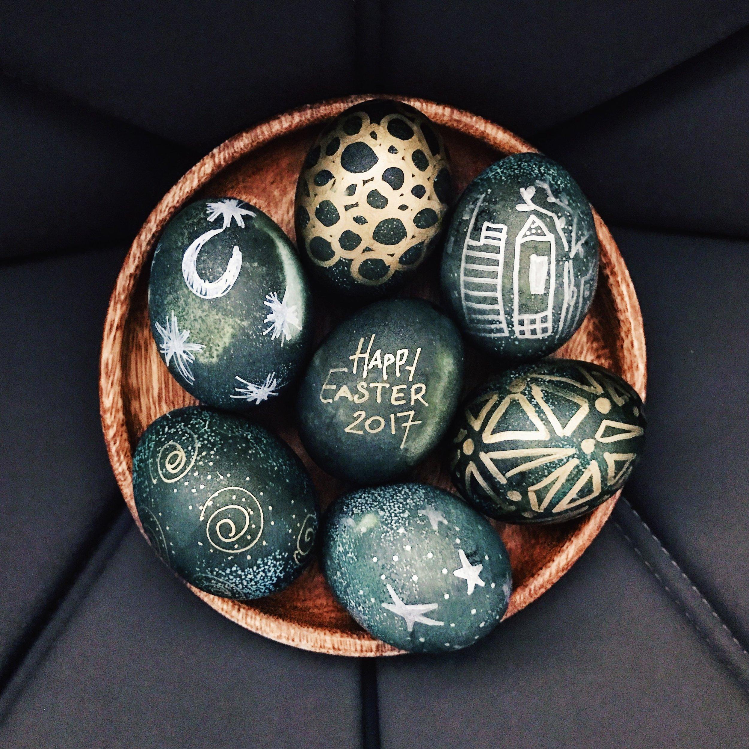 Tribal Easter Eggs | RafaellaSargi.com
