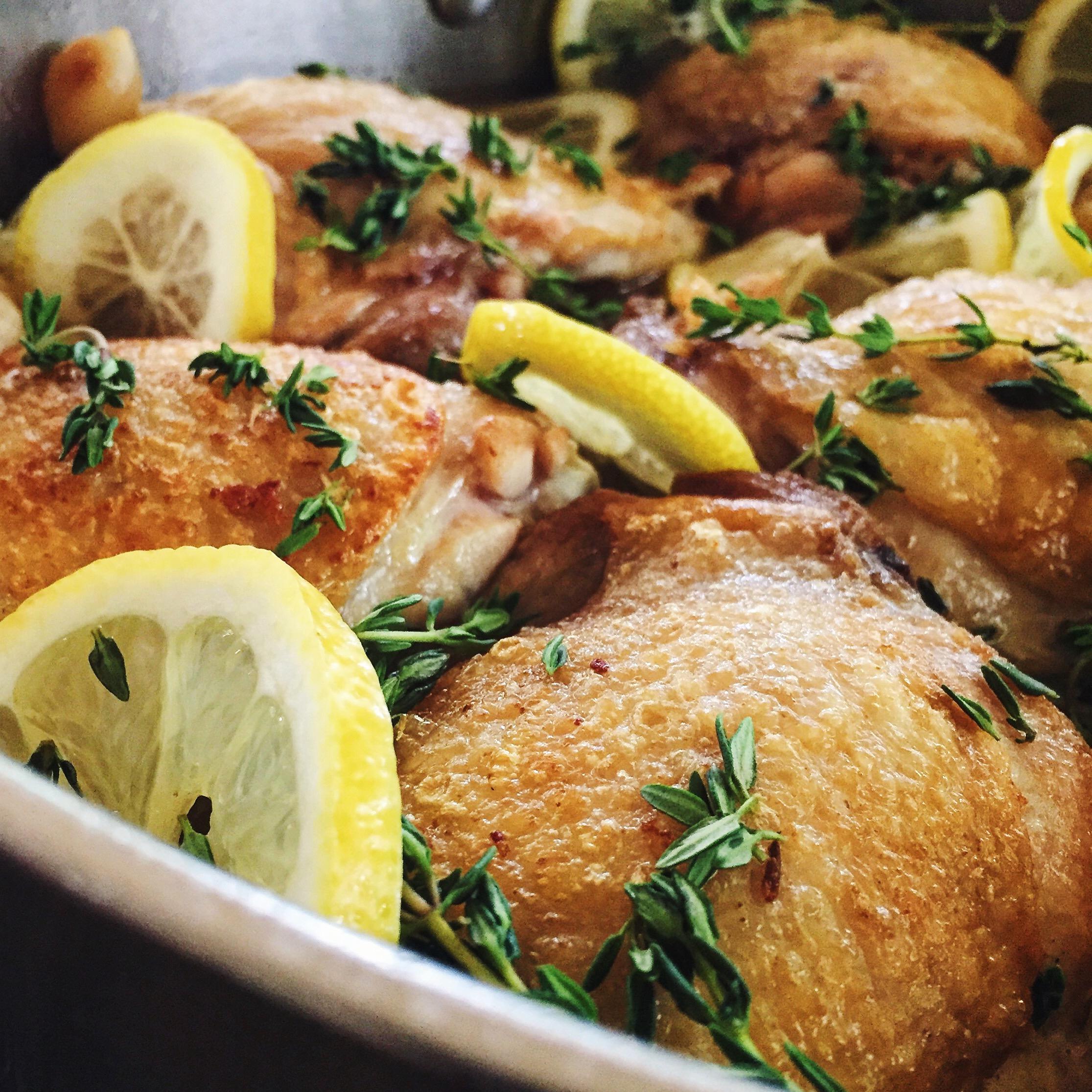 Lemon_Thyme_Chicken | RafaellaSargi.com