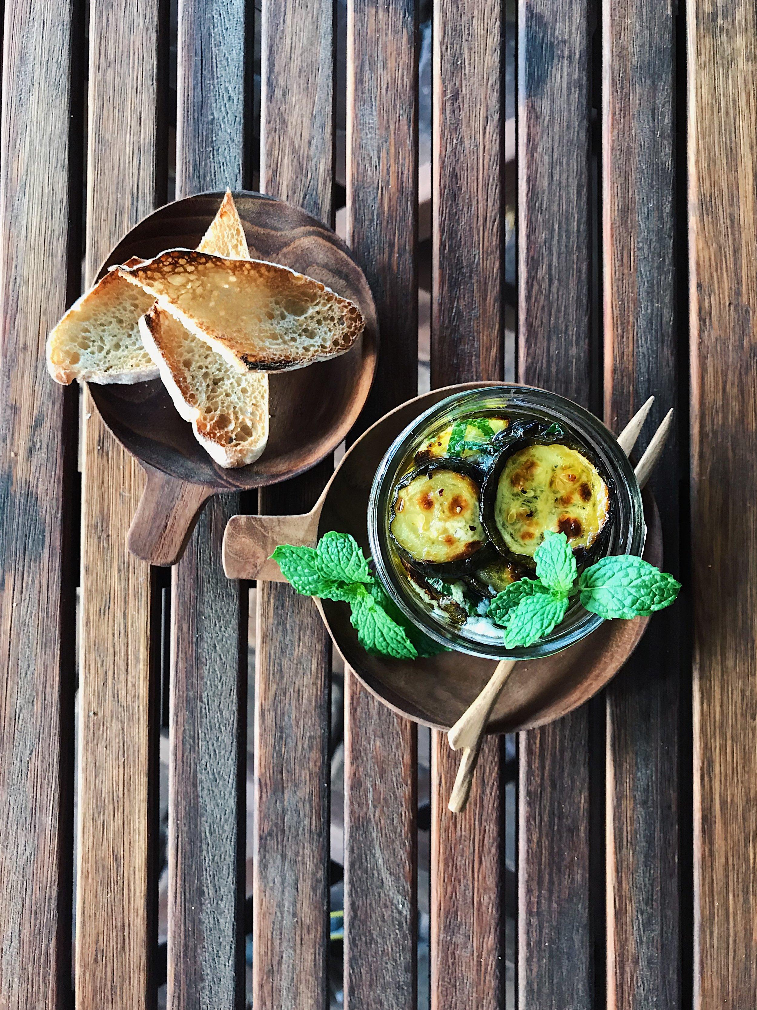 Zucchini Bruschetta | RafaellaSargi.com