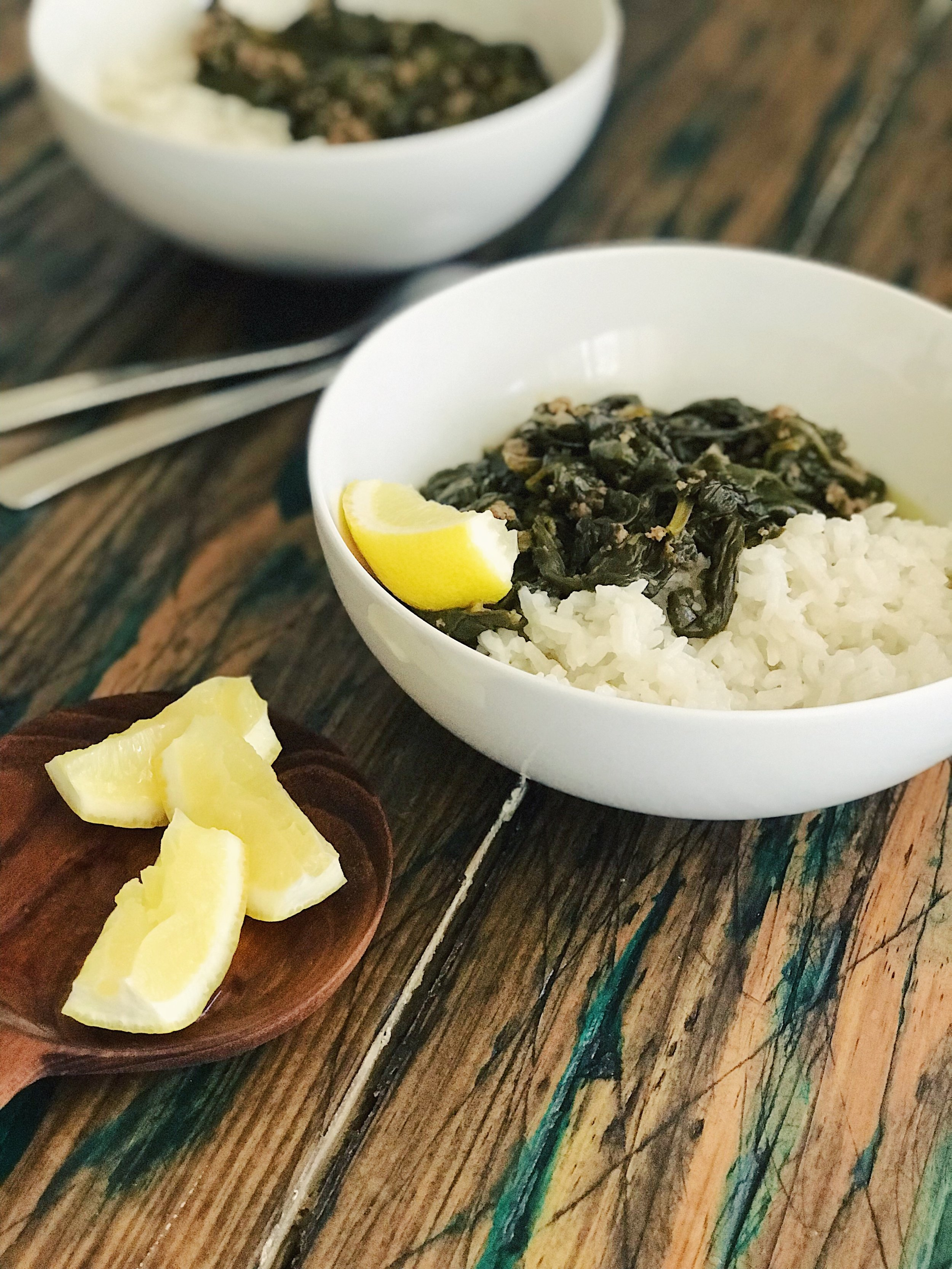 Spinach Stew | RafaellaSargi.com
