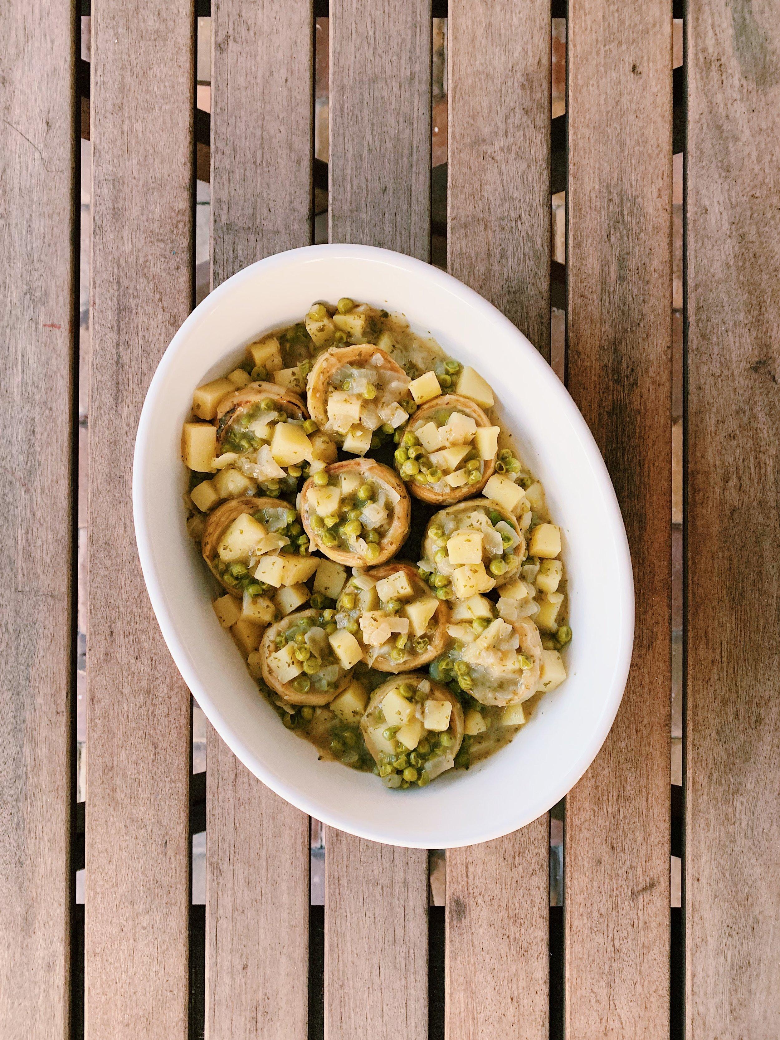 Cold Artichoke Salad | RafaellaSargi.com