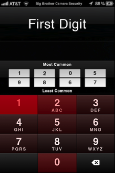 Most Common iPhone Passcodes — Daniel Amitay