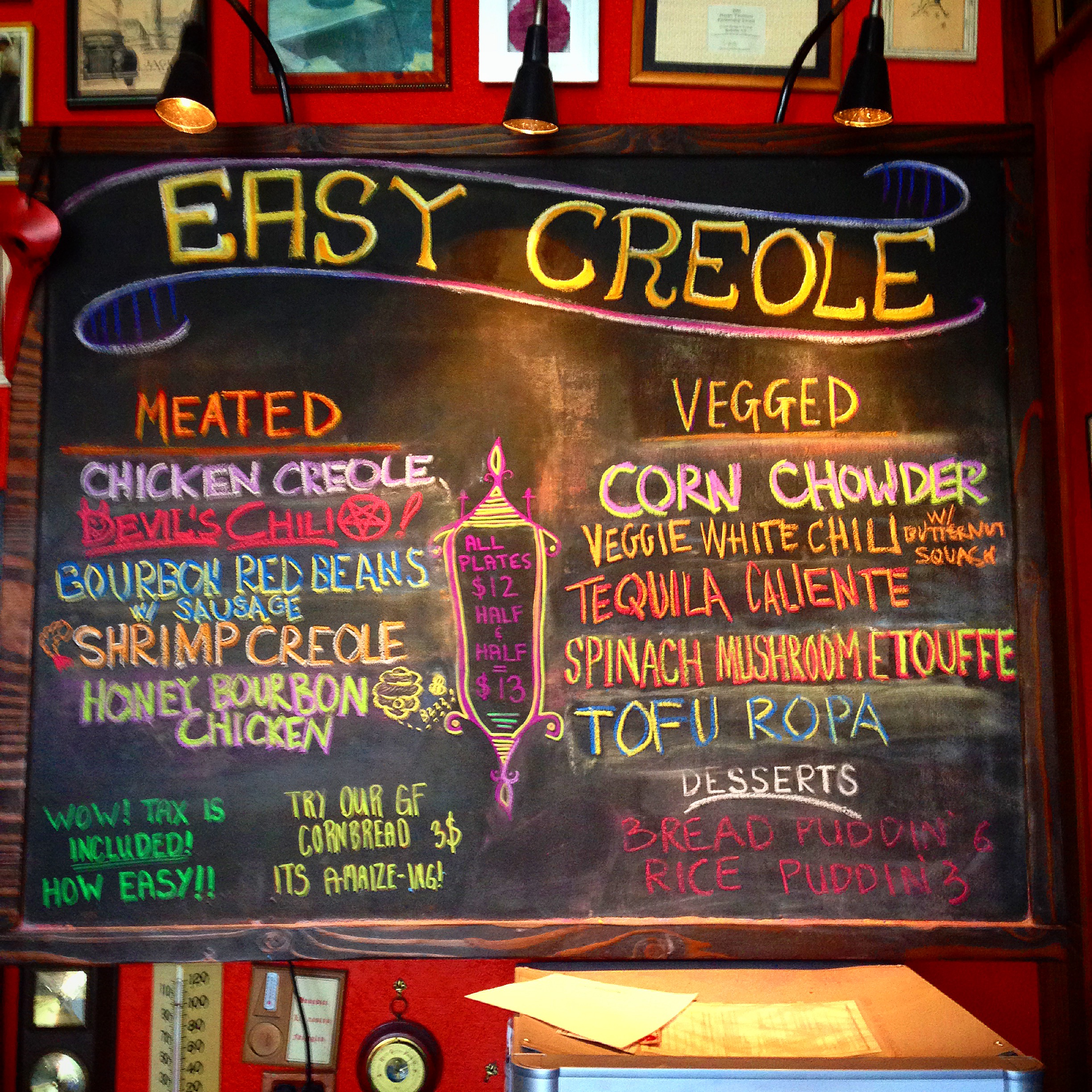 What a better way to start the day than with a plate of wholesome food and the friendly faces of the heartwarming folks at Easy Creole?