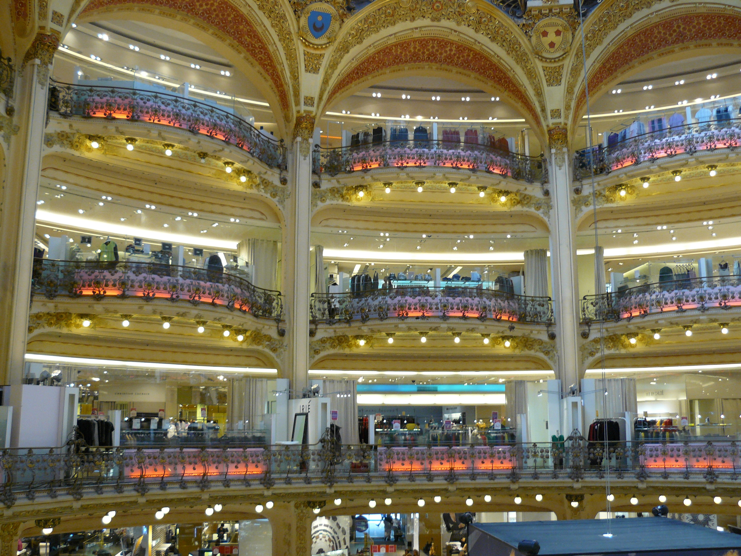 No! Not an opera house, but rather, a shopping mall!