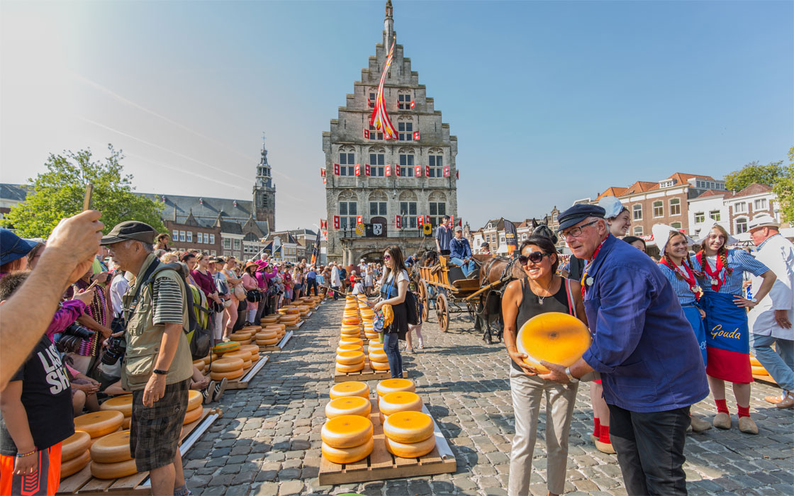 Going to the Gouda Cheese Market!
