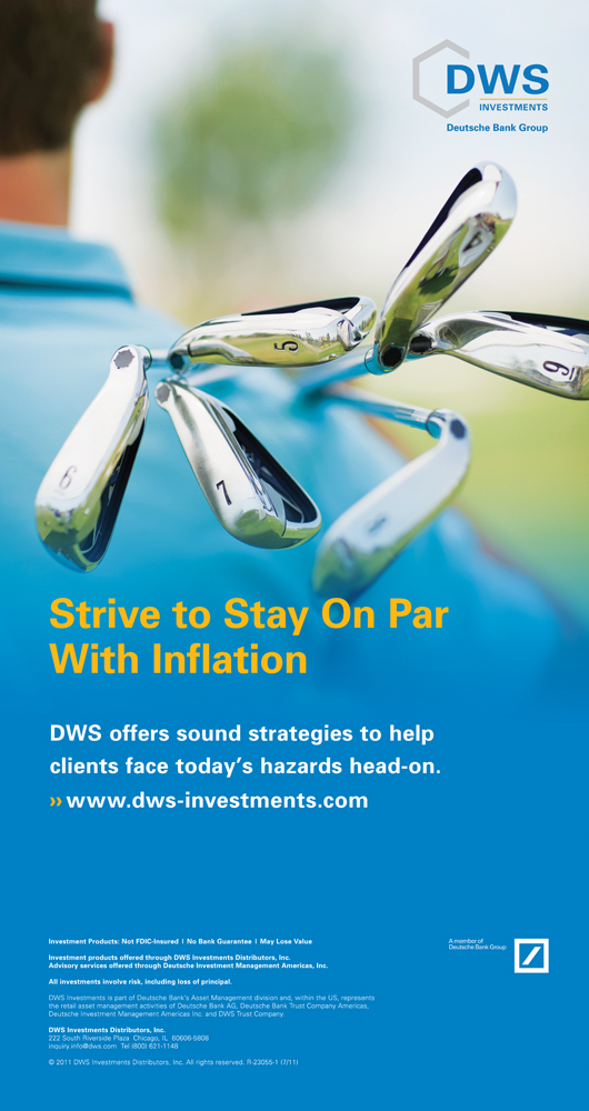 """DWS Investments  48.75"""" x 92"""" Bannerstand"""