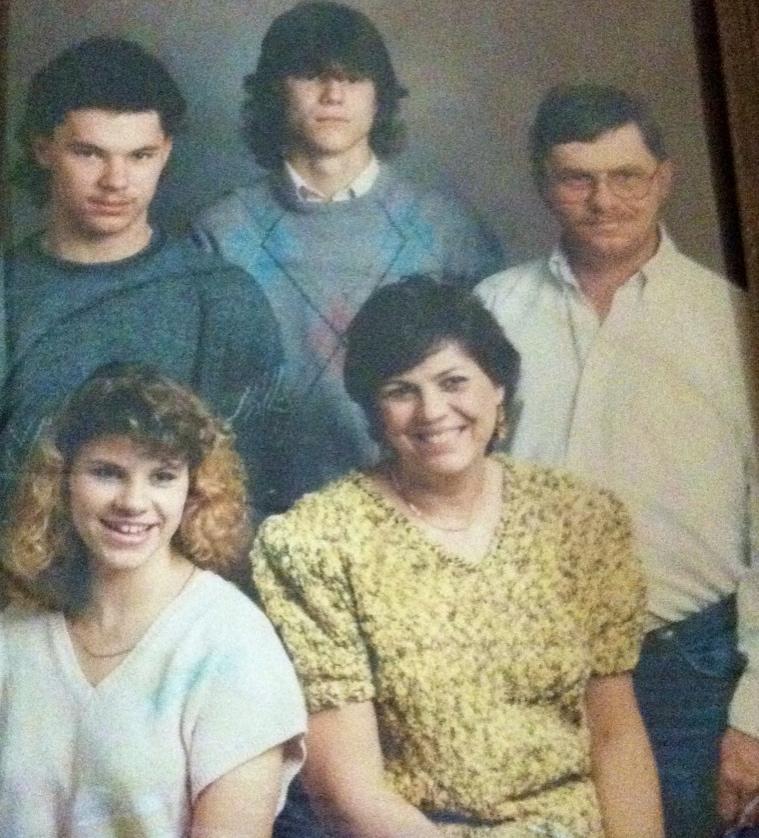 Vintage Hughes Family