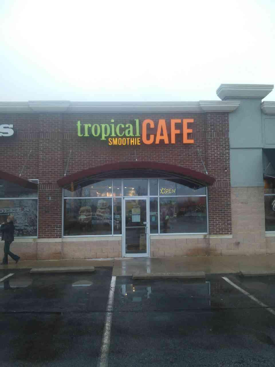 Tropical Cafe Smoothie