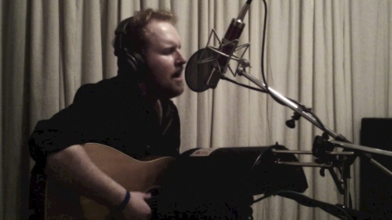 "Gavin James guitar/vocal recording for ""Ghost"" (Acoustic Version)"