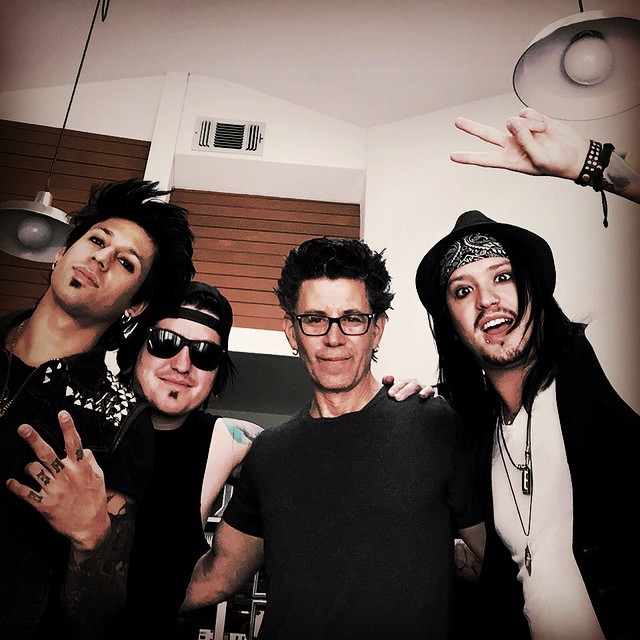 Escape The Fate writing sessions