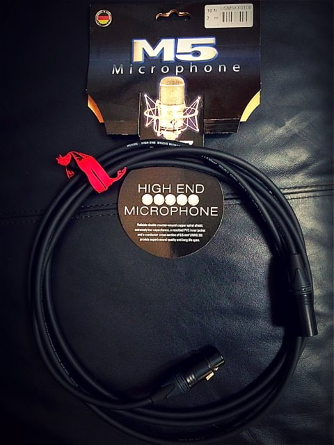 M5 Mic cable